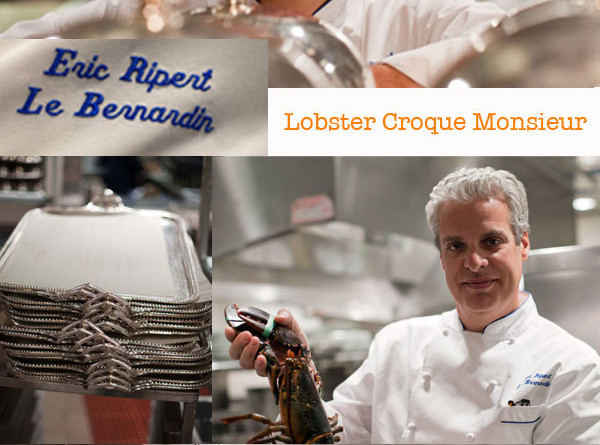 Eric Ripert's Lobster Croque Monsieur
