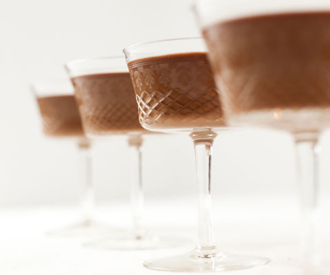 Chocolate Panna Cotta Recipe from Michael Mina