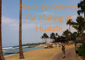 pie making at Hualalai Made in America Chef Fest