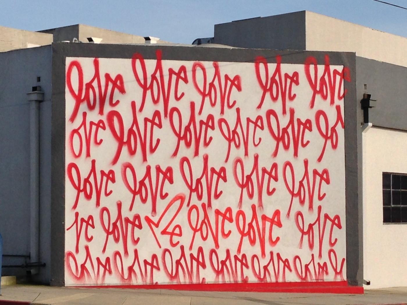 Love - graffiti Culver City