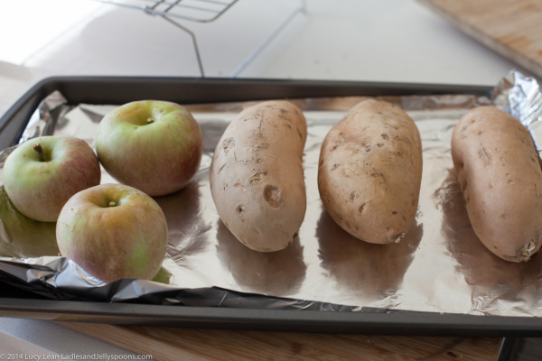 Sweet Potato Purée from Martha Rose Schulman