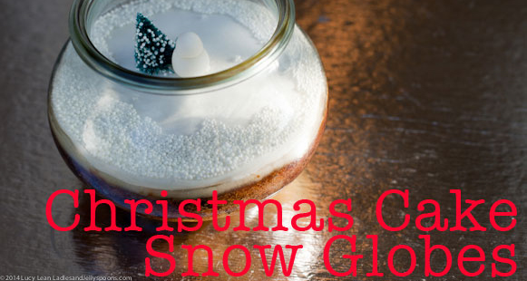 Christmas Cake Snow Globes
