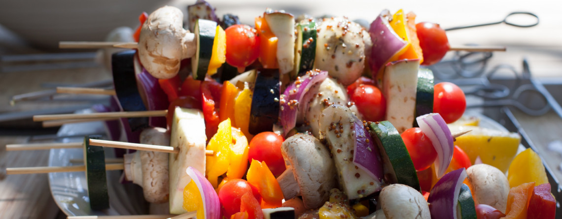Provençal Chicken Skewers with an Ottolenghi Twist