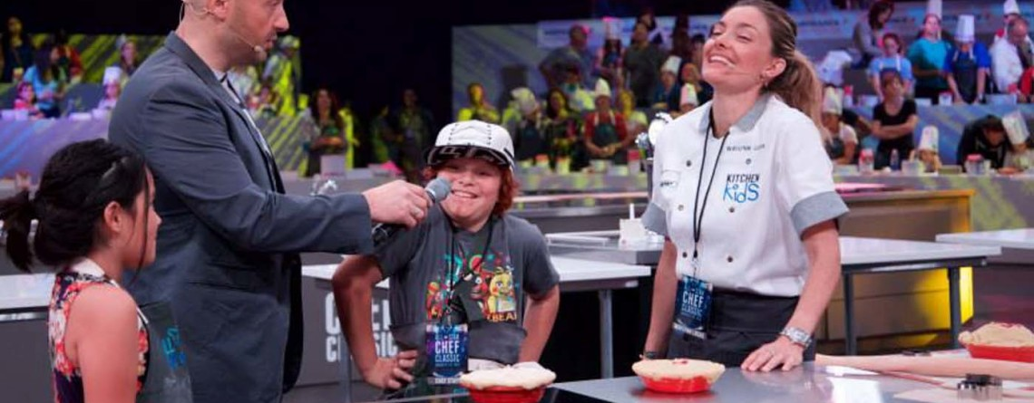 Celebrating Kitchen Kids with pie