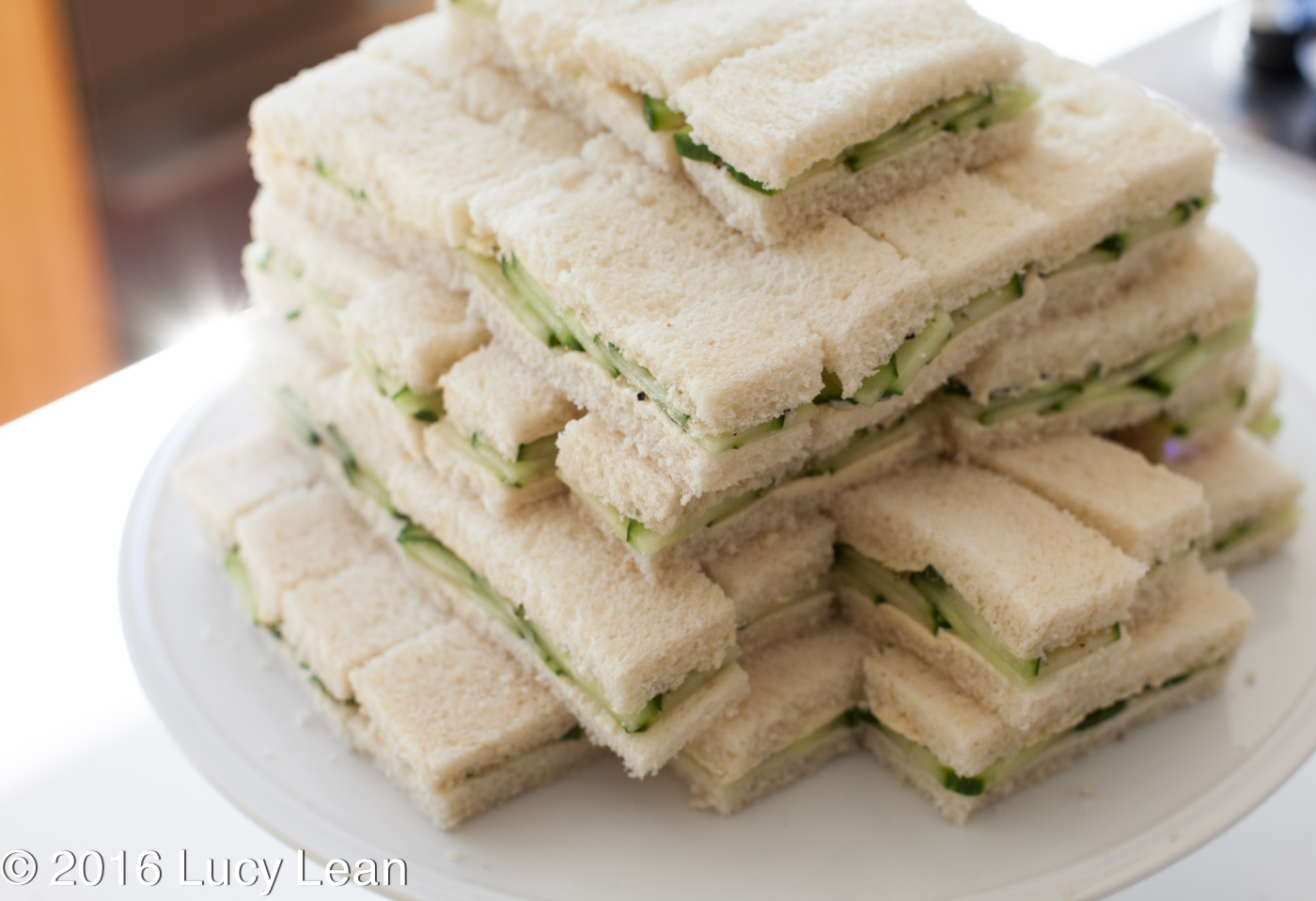 ... the upper class with the delicate deliciousness of a cucumber sandwich